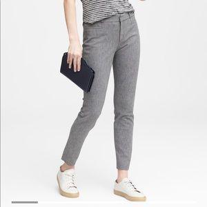 Banana Republic Sloan skinny fit textured pants